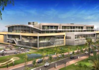 New Student Affairs Building at Qatar University