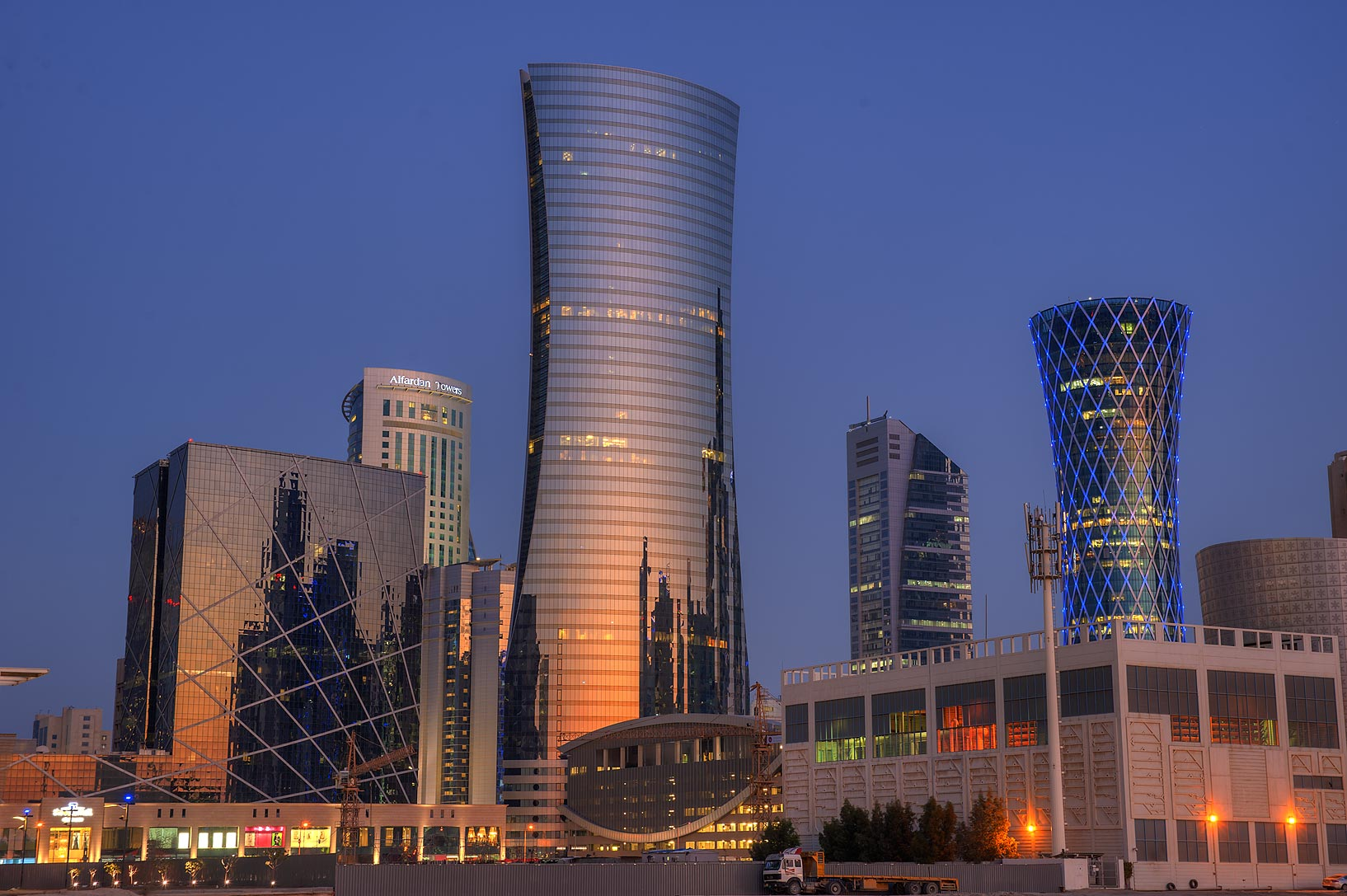Qatar Navigation Tower (Qatar Gas)