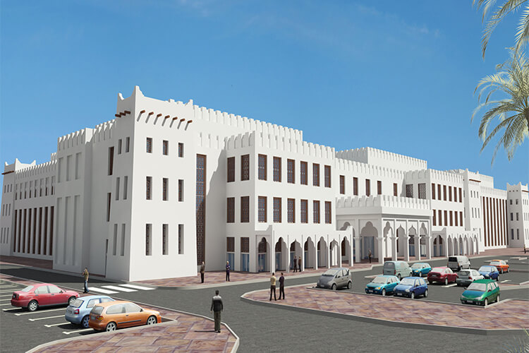Workers Hospital at Mesaieed